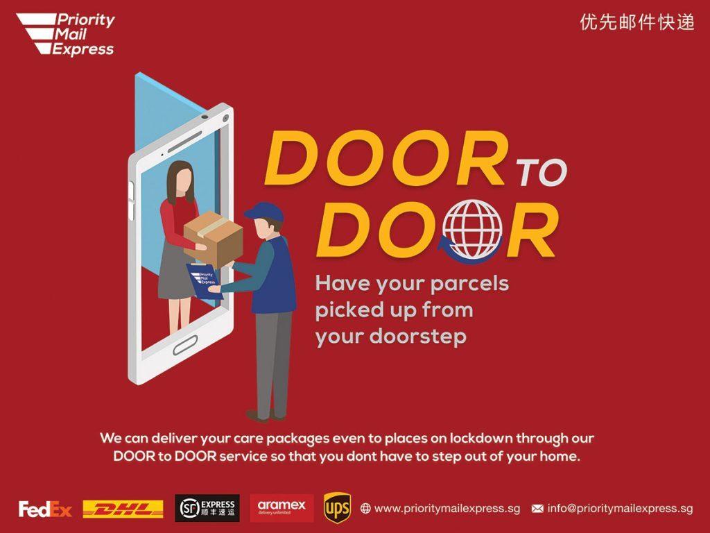Door-to-Door Courier Service Singapore
